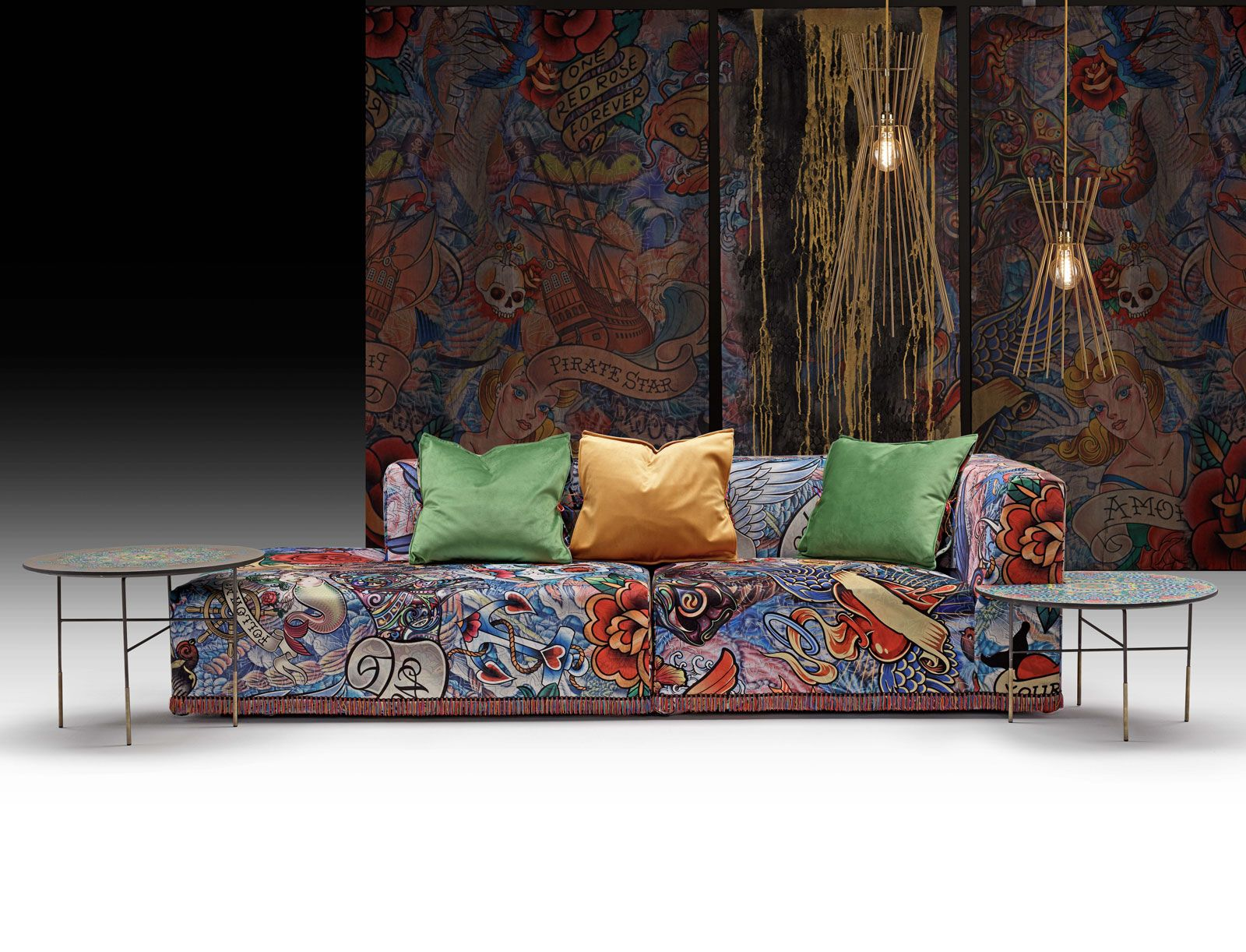 Tattoo sofa